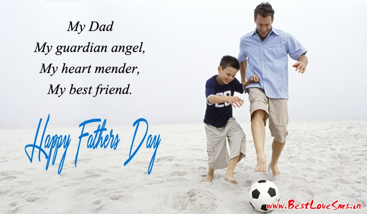 Happy Fathers Day Wallpapers of Dad & Son