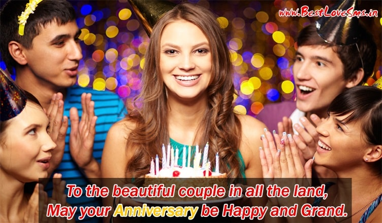 Marriage Anniversary Wishes for Friends