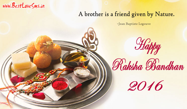 Raksha Bandhan Quotes for Brother in English